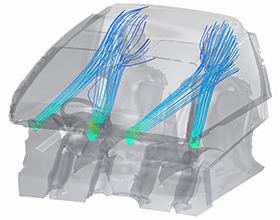 Pic of Air flow analysis